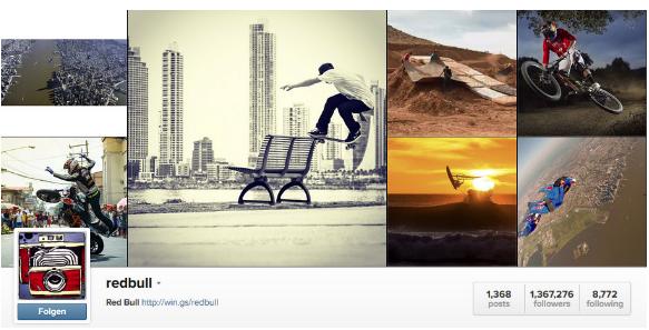 instagram redbull