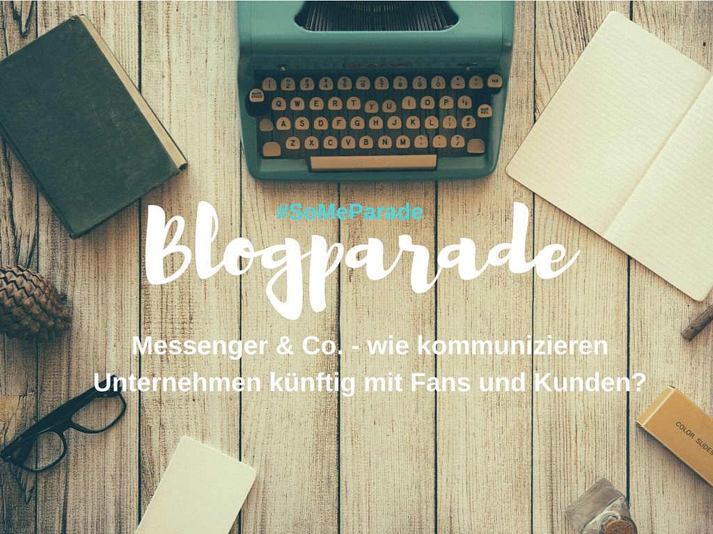 Blogparade Social Media Trends SoMeParade Titel