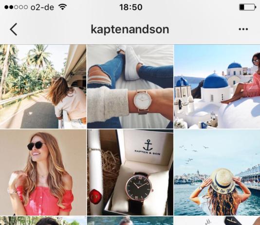 Kaptenandson Instagram