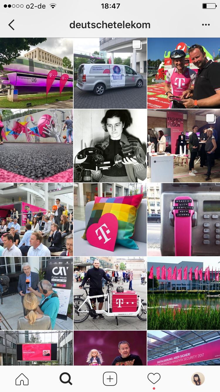 Telekom Instagram