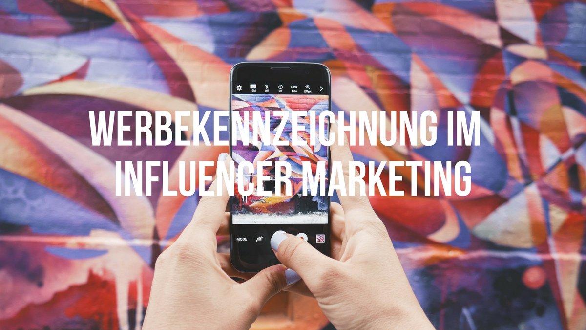Influencer Marketing Werbekennzeichnung Schwenke