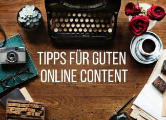 Tipps guten Online Content schreiben